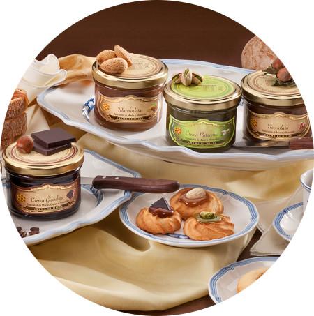 Italian honey creams