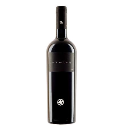 Italian Merlot red wine