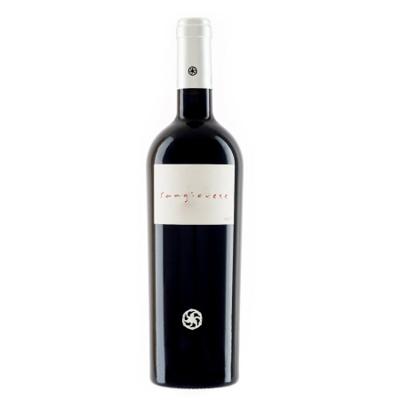 Italian Sangiovese red wine