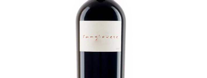 Italian Sangiovese red wine